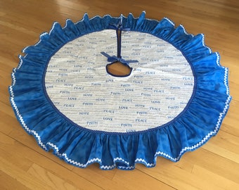 Bible Verses Tree Skirt