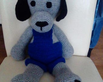 Crochet puppy dog