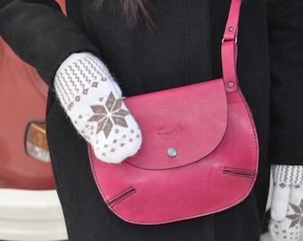 Women Bag // Women Bag // Women Crossbody Bag // Leather Bag //purple leather bag// purple bag // Shoulder bag // small bag