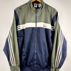 Vintage Adidas Equipment Sportswear Hip Hop Windbreaker Jacket Large oFltoV3ky