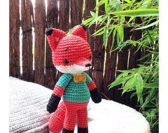 Crocheted Fox plush