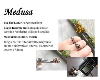 Medusa - ring tutorial
