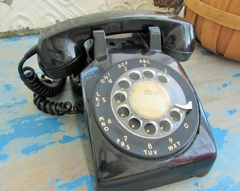 60's rotary phone, made in Canada