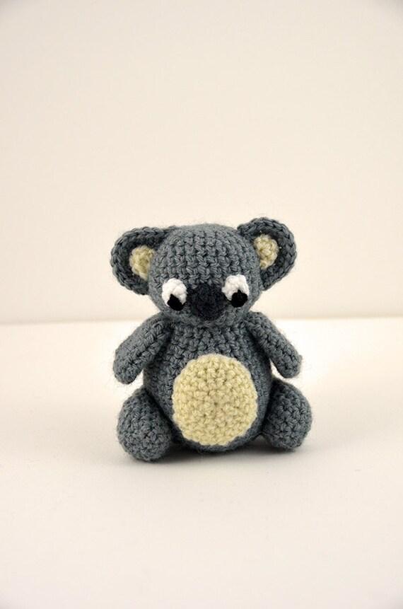 Koala Crochet Pattern Amigurumi Koala Pattern Crochet Koala