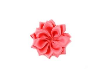 Dusty Rose Dainty Star Flowers 1-1/2 inch- Dusty Rose Fabric Flowers, Dusty Rose Hair Flowers, Dusty Rose Flower, Pink Flowers for Headbands