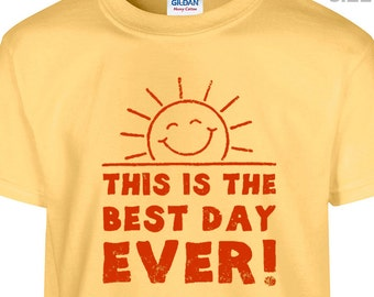 YOUTH / KIDS This is the Best Day Ever Shirt Funny Kids Shirt Little Miss Sunshine Shirt Positive Kids Shirt