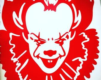 Clown Decal