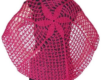 The Yuet Shawl - PDF Crochet Pattern - Instant Download