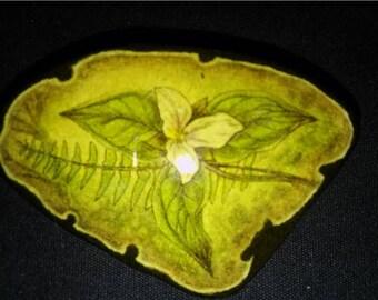 Trillium flower etsy vintage handmade white trillium flower pin mightylinksfo