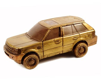 Car chocolate candy range rover sport natural Belgian chocolate