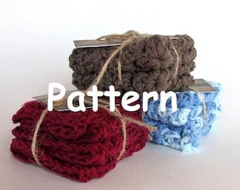 Crochet Pattern Washcloth Dishcloth- Do it yourself - Instant Download PDF