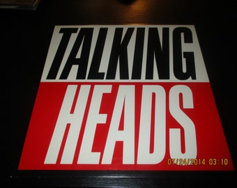 The Talking Heads vinyl - True Stories - Original Edition - Prestige vinyl in VG++ Condition