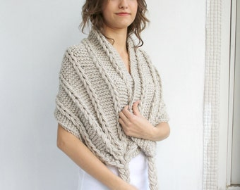 Beige  Scarf Shawl   gift  UNDER 75USD For Her