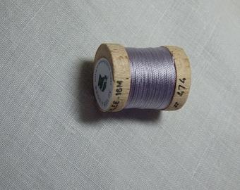 Spool of 16 meters silk beaded No. 474
