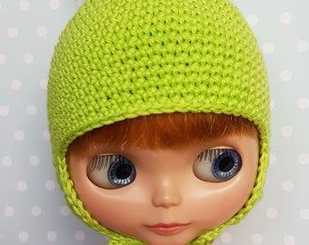 Blythe Hat Light Fresh Green Bunny