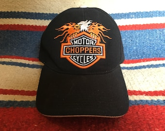 Vintage Harley Davidson Motorcycle Choppers Hat