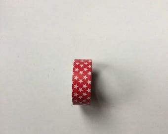 Scrapbooking Washi tape Washi tape Red Star