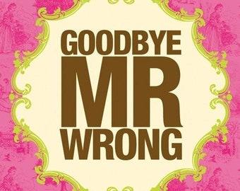 Divorce Pinata Goodbye Mr. Wrong Celebrations