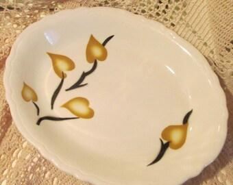 Vintage Wellsville China Restaurant Ware Platter