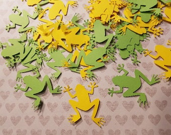 Die Cut Little Frogs.                   #PET-49