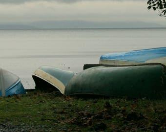 Abandoned Boat- METAL PRINT