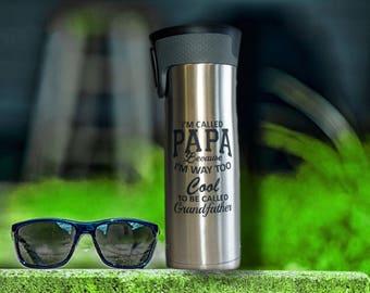 Personalized Tumbler Gift, Insulated Stainless Steel, 20 oz,  Contigo,  Travel mug, Custom  Personalized Travel Mug -  Bridesmaid Tumbler