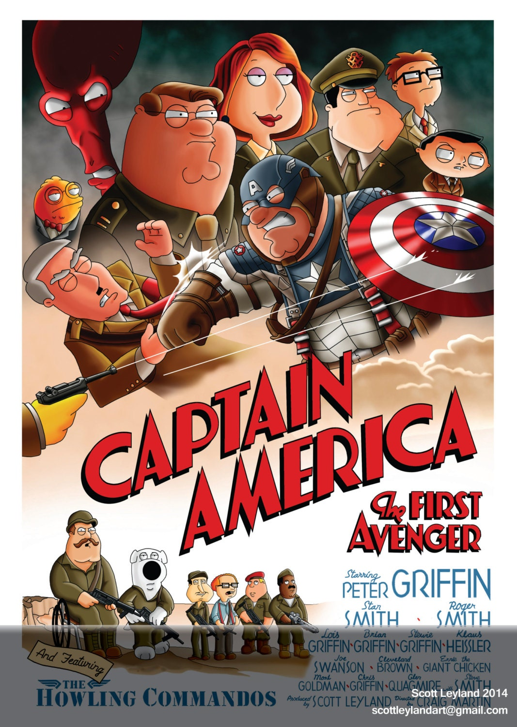 captain america family guy and american dad parody a3