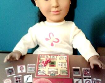 American Girl Sized Clue Board Game Set