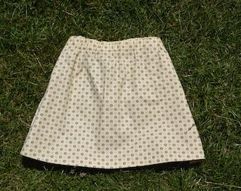Upcycled Vintage skirt - Size 16 Eco Fashion