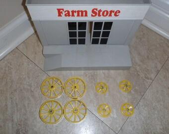 Toy Farm Tractor Wheels