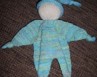 Knubbelchen - first toys - knit doll
