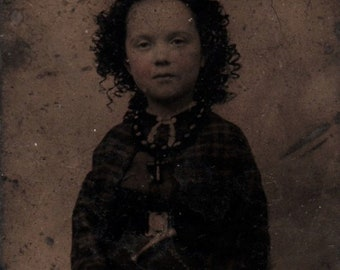 Victorian Tintype Photo