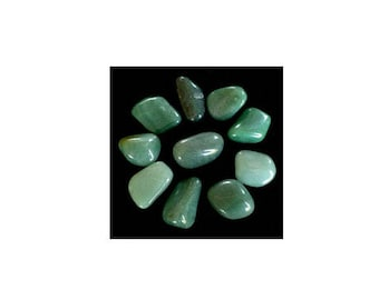 approximately 2 cm 1 stone rolled aventurine for the creation of your jewelry gemstones