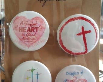Kingdom Heart - Pinback Badges