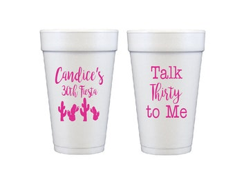 Personalized Frosted Cups Shatterproof Cup Monogrammed