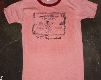 Vintage Roostertail Detroit 70s Ringer T-Shirt