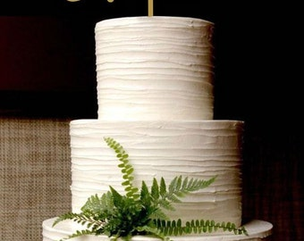 """Wedding Cake Topper To the Moon & Back- Silver Cake Topper - Please Enter your phone number in the """"NOTE to the seller"""""""