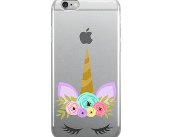 Unicorn iPhone Case - Unicorn Phone Cover -  Iphone Case Cover - Phone Protector