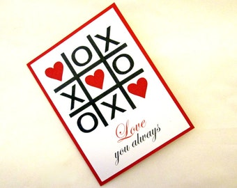 Valentine's Day Card, Love Card, Valentine Card, Valentines Card, Card for Boyfriend, Card for Girlfriend, Anniversary Card, Boyfriend Card