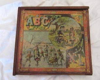 J. H. Singer ABC Blocks 1893-1895