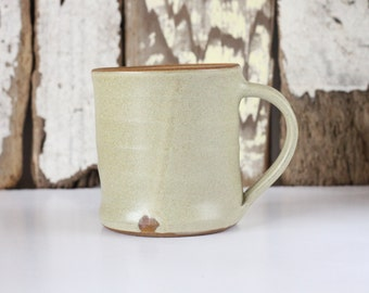 Coffee Mug / Tea Cup / Hot Chocolate Mug / 12 Ounce Mug / Off White Mug