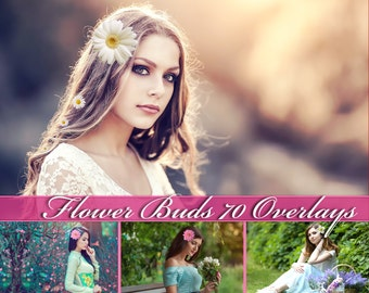 70 Flower Overlays Photoshop Overlays Flower Clip Art Flower Overlay Flower Clipart Flower Photo Overlays Flower Buds Overlays Flower PNG
