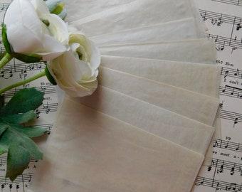 Small Vintage Glassine Envelopes - Set Of 10
