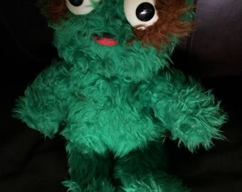 Vintage Oscar the Grouch Sesame Street,Muppets, CTW, Plush,Knickerbocker 16 in.
