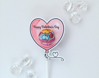 Valentine's Day  MINI lollipop holders
