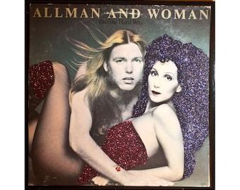 Glittered Cher Allman and Woman Album