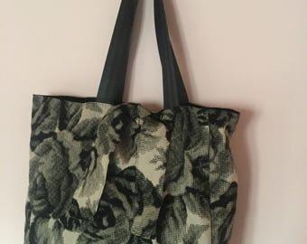 Embossed Cotton fabric Bag