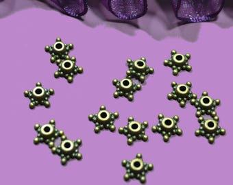 bronze filigree star 10 cups 10mm