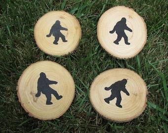 Bigfoot Coasters-Made to Order