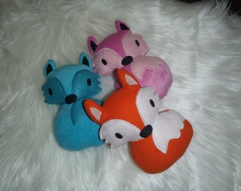 Baby fox softie toy